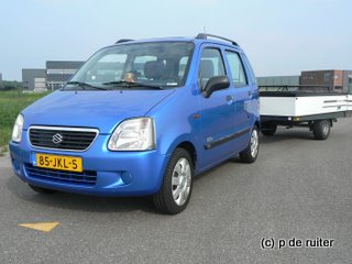 Suzuki wagon r+ met combicamp